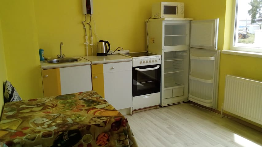 Квартира в тихом районе Витязево - Vityazevo