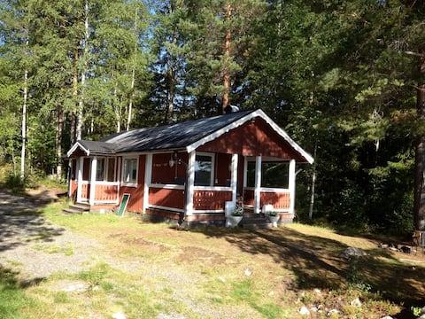 Ferienhuette in Schwedens Dalarna