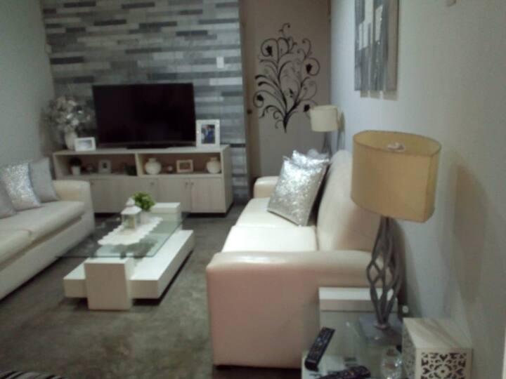 Dormitorio y sala de reposo
