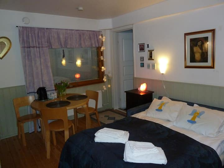 Private bedroom - with sauna and own entrance