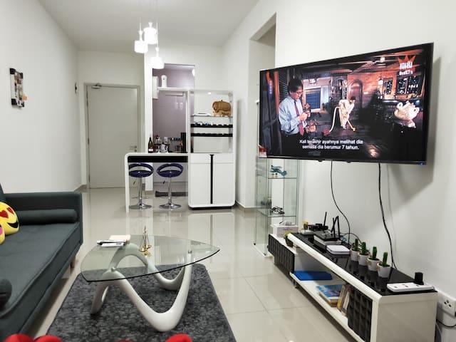 Leisure Homestay 4-6pax~休闲民宿Kuala  Lumpur/TBS/KLCC