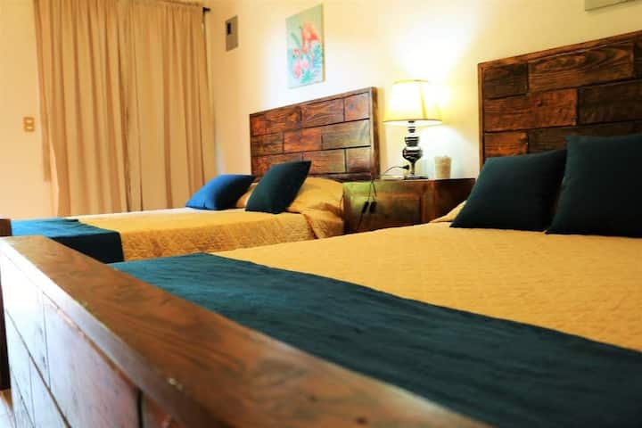 Villa de cama doble (2 camas).