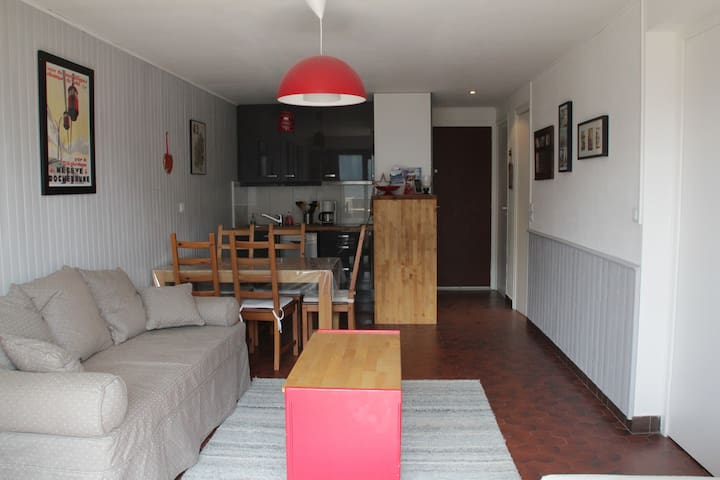 2 roomed apartment 5 persons
