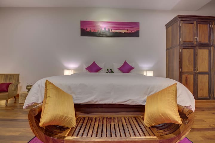 The Pink Room & Homestay + Pick Up - Krong Siem Reap - Villa