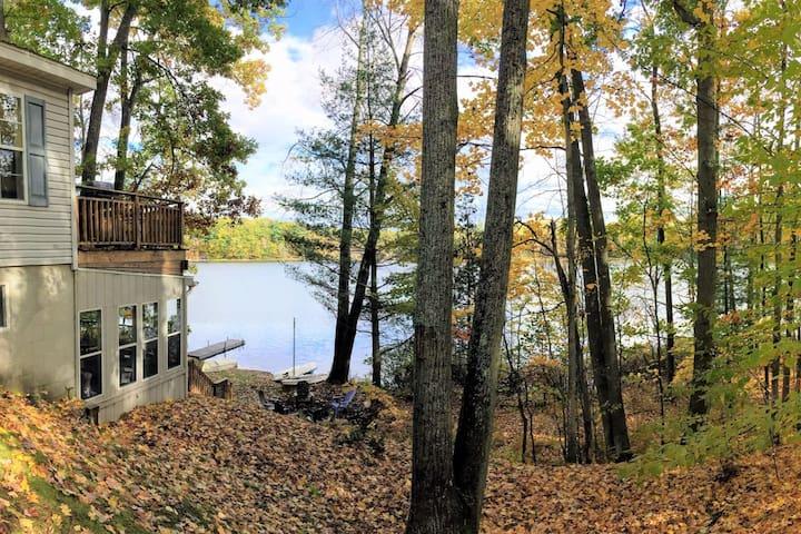 Traverse City Area Family Getaway on Sanford Lake
