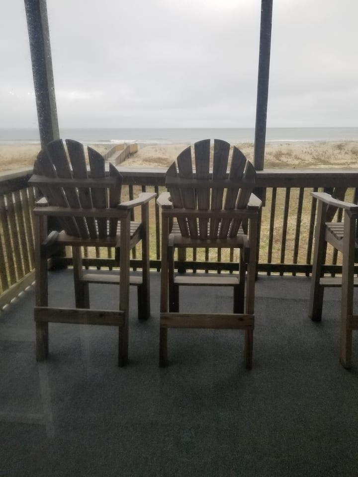 Ocean Front Condo 6A Hatteras High