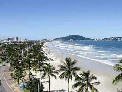 Apto Guarujá, Enseada 3 quadras do mar-WiFi+Net HD