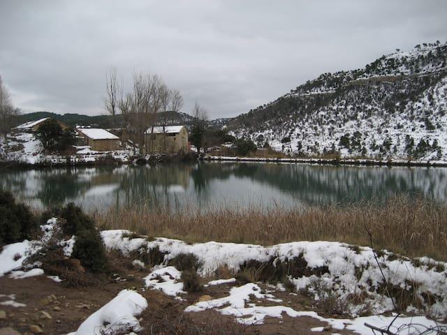 "Habitacion  ""Casona"" Siglo. XVIII junto a lago."