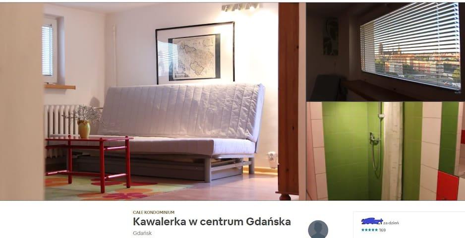 Kawalerka w Centrum Gdańska