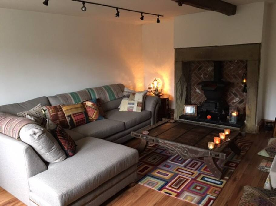 Living room for you to chill in:)