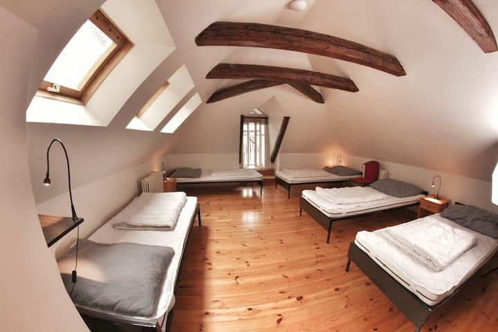 Hostel HOMEr - 5 bed mixed room