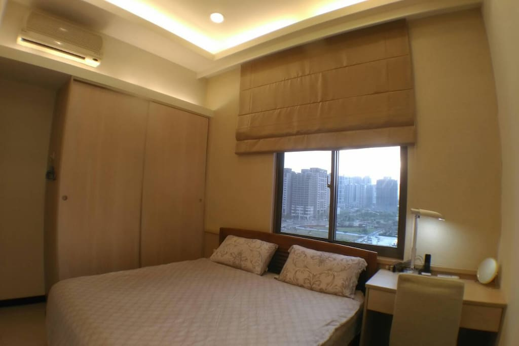 Mater bedroom with private bath