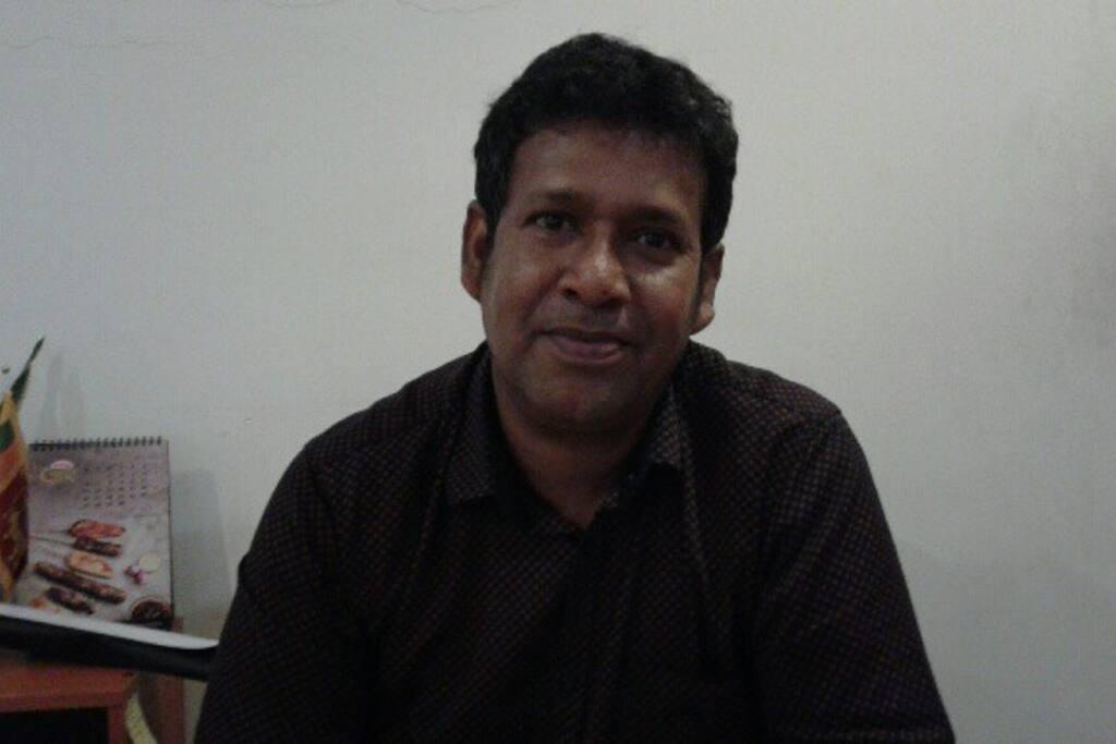 meet Nalaka the manager