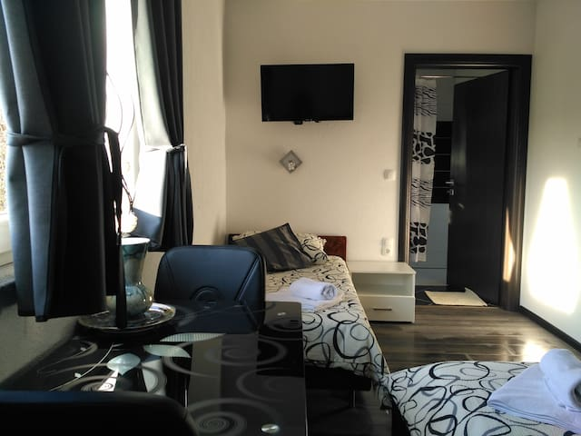 Plitvice lakes,  First stop - Comfort triple room