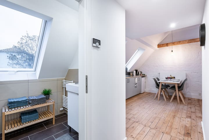 Cosy loft with Netflix close to the campus!