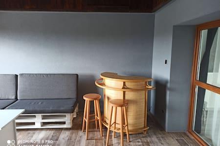Zaciszny apartament z MEGA tarasem