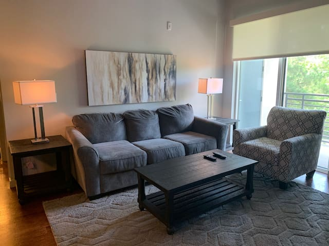 Modern 2 bedroom / 2 bathroom / The Woodlands