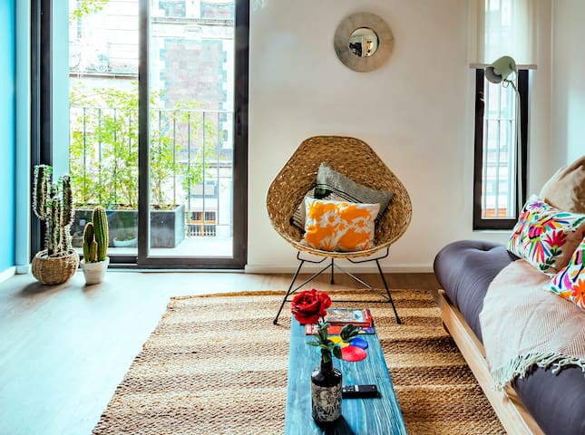 Incredible Apartment two blocks from Zócalo, CDMX