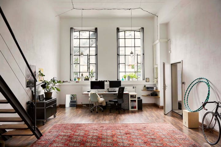 charming loft in the scene district of cologne - Köln - Loft