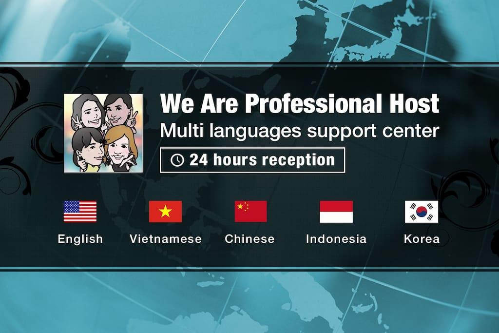 We Are professional Host Multi languages support center