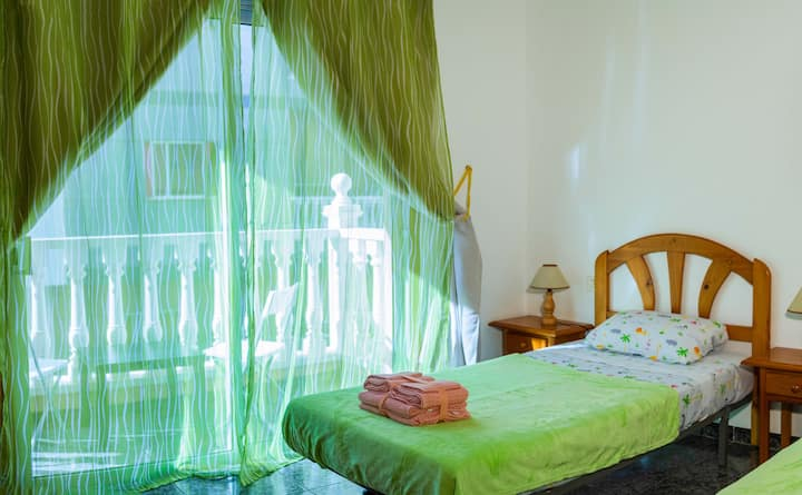 Comfortable apartments in a southern costal town