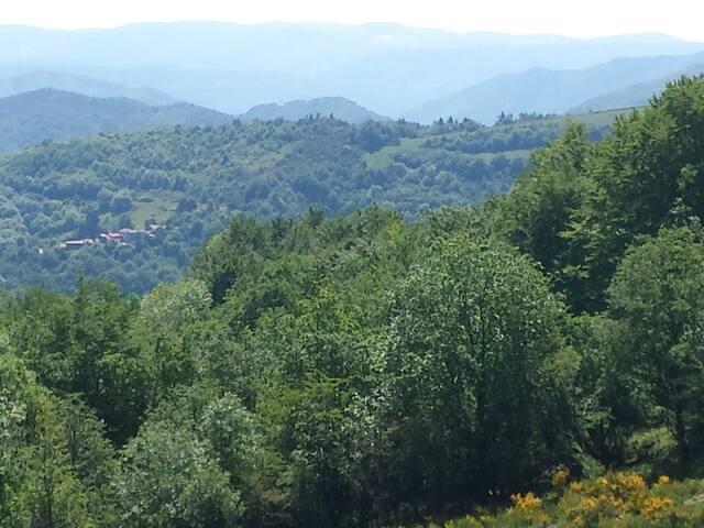 Gîte dans petit hameau au coeur de la nature