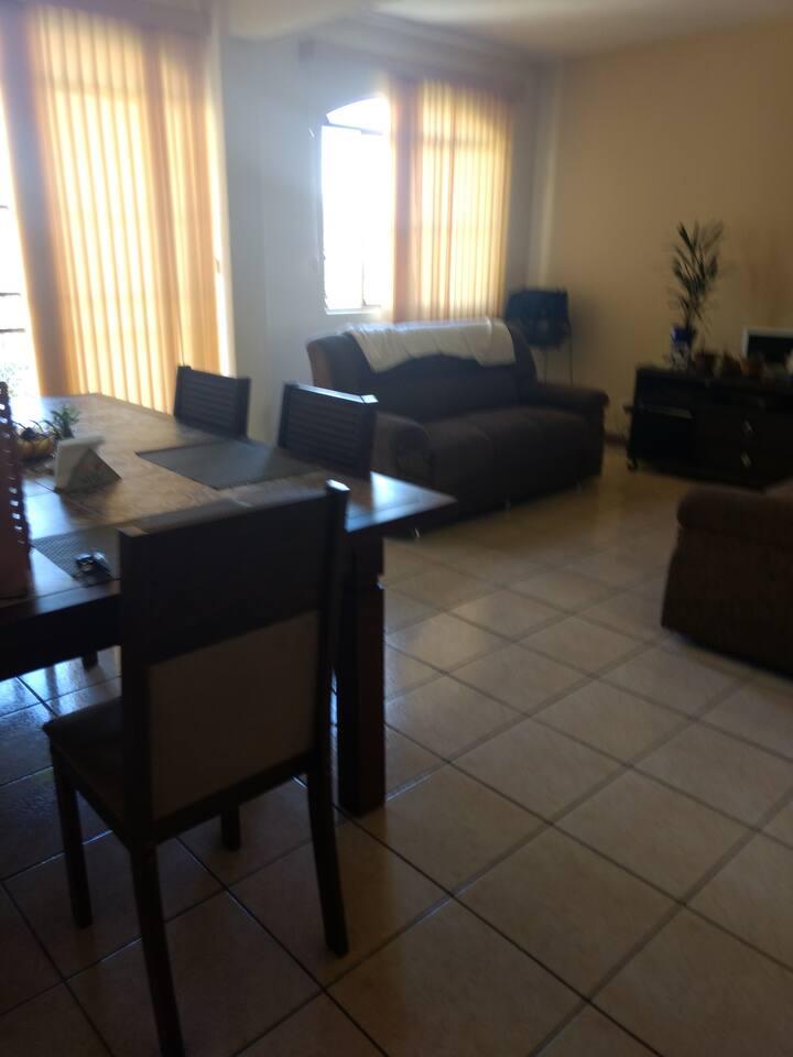 Apartamento amplo com linda vista