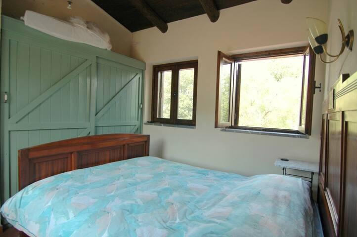 Slaapkamer op de eerste verdieping.