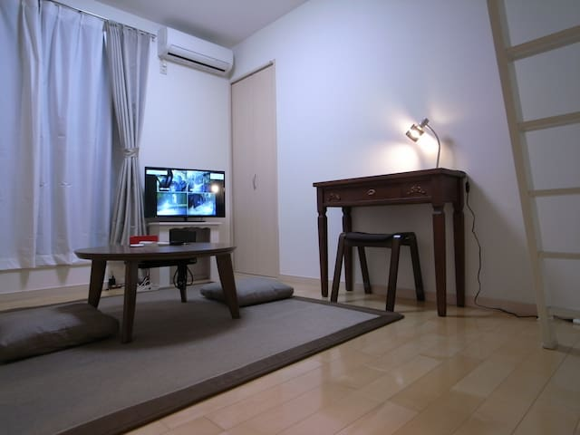 One room new apartment in YOKOHAMA near KAMAKURA