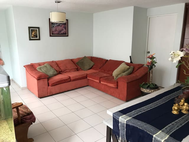Comfortable, central and quiet, near to condesa