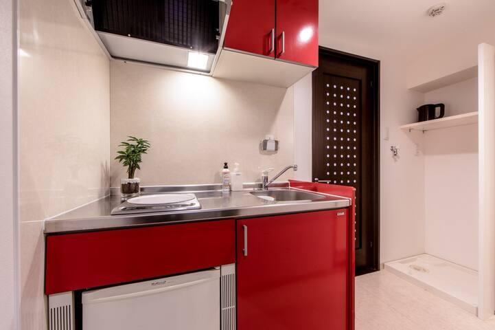 キッチン(Kitchen、厨房、주방)