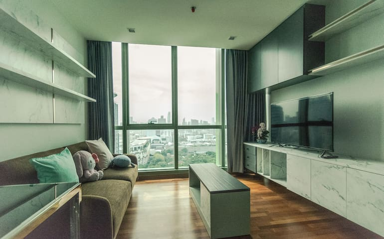 2bedrooms New, cosy, central of BKK BTS Ratchatewi