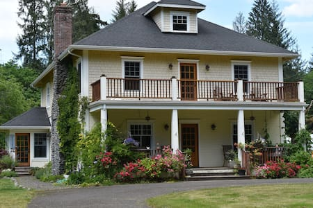 Stay in a Farmhouse by the Olympic National Park