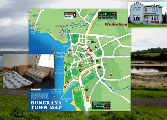 Friendly Family Home not far from the Sea - Buncrana - Dům