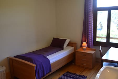 Comfortable Single Room in Traditional Swiss Villa - Lavey-Morcles - Villa