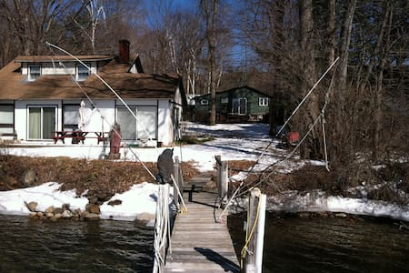 Lovely cottage on Lake George, NY.  Dock available - Lake George