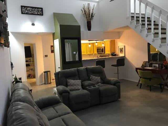 Master Bedroom- Quiet Condo Complex