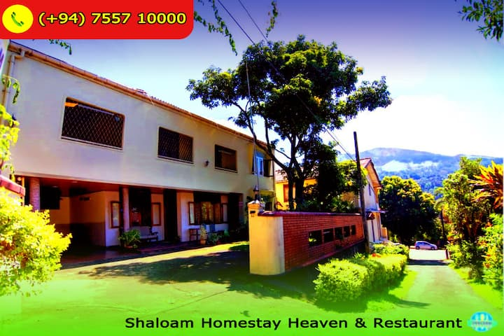 Shaloam Homestay Heaven & Restaurant - Full Unit