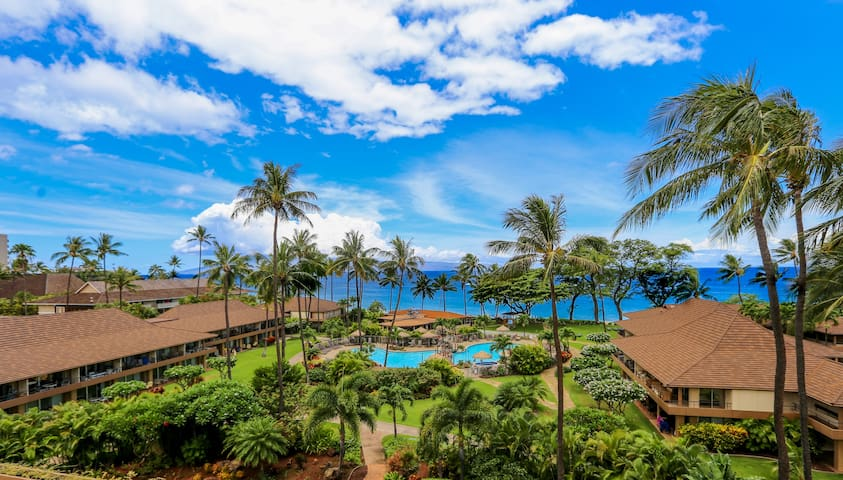 Luxury Corner Condo with Panoramic Ocean View - Hale Alii