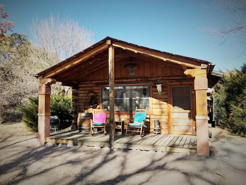 Pinon Log Cabin Studio - Escape a Bear Creek, senderismo, naturaleza, relax