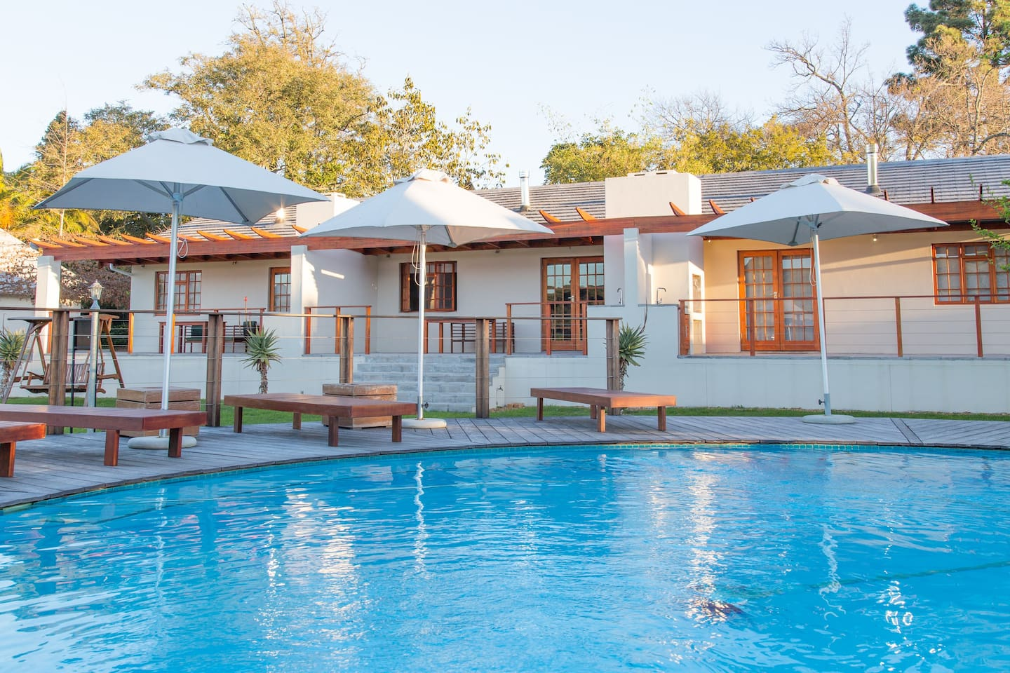 Luxury One Bedroom Apartments with Pool on 2 Hectare Estate