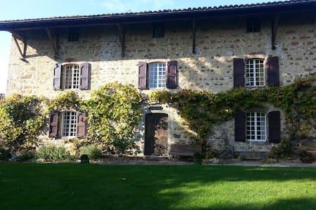 belle demeure en pierre du 17éme - Coise - Huis
