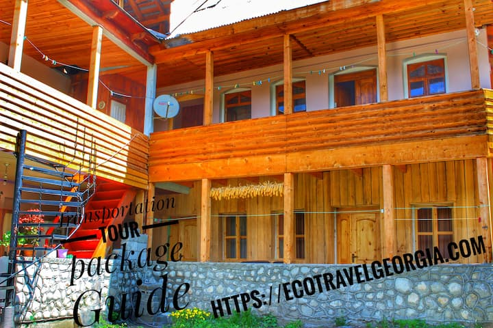 Ecohouse Svaneti