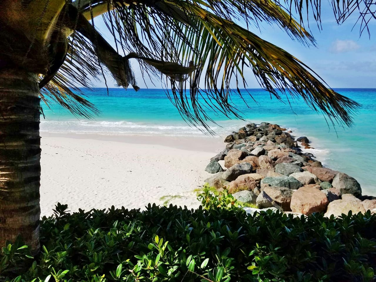 White sandy beaches and turquoise waters! Doesn't get much better than this!