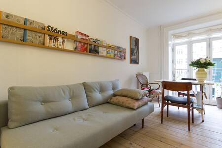 Cozy 2-room flat in Cop. center - København - Apartment