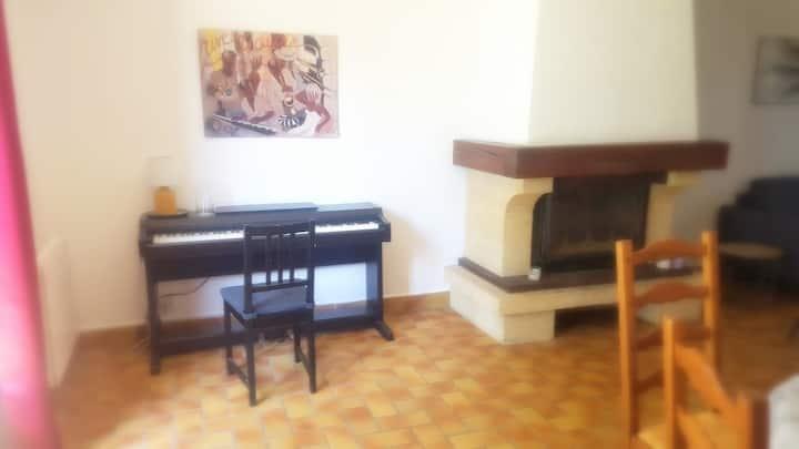 Villa confortable 4 chambres, Jardin, Tranquillité