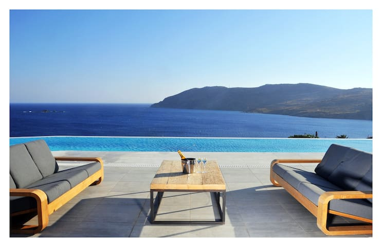 Amazing Mykonos Estate, 10 bedrooms - Mykonos - Casa