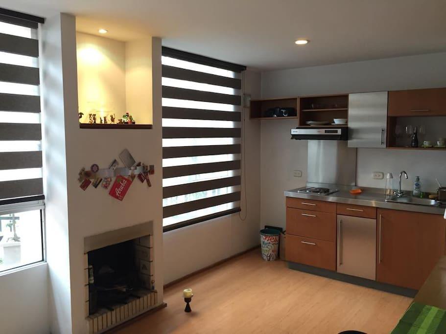 Apartamento tipo loft amoblado lofts for rent in bogot - Apartamentos tipo loft ...