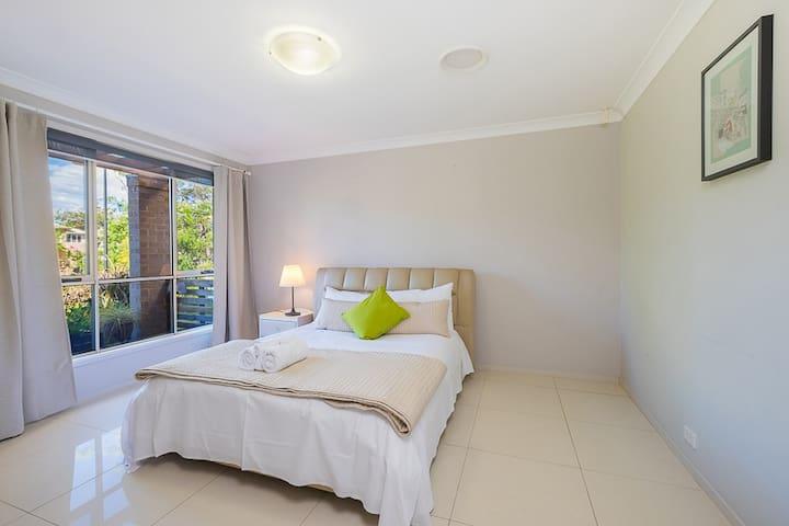 No.1 Cozy Double Room With Shared Bathroom - Bankstown - Rumah Tamu