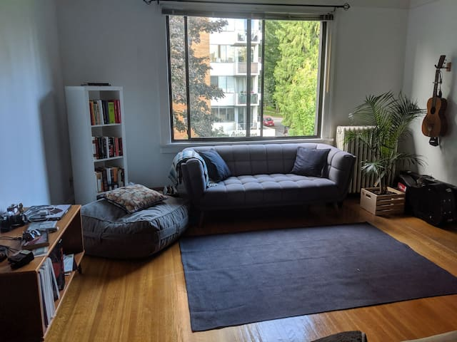Cozy, vibrant apartment in the West End